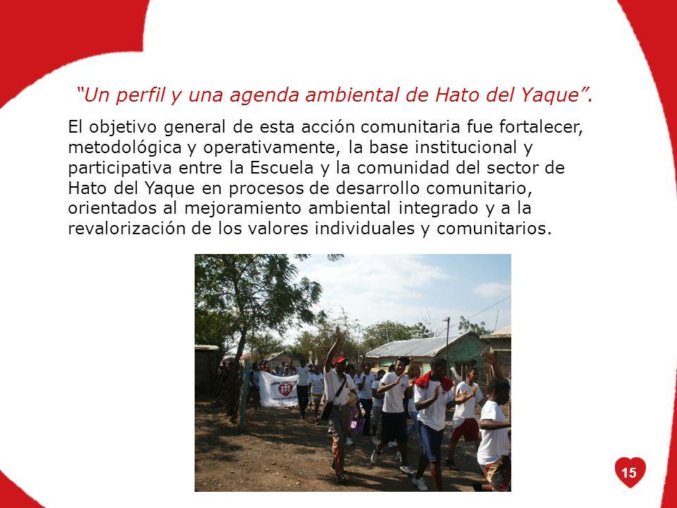 15 Un perfil y una agenda ambiental de Hato del Yaque.