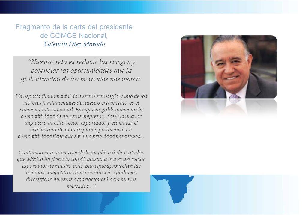 Promoción Internacional de nuestros Asociados a través de la relación con nuestras contrapartes en más de 60 países.
