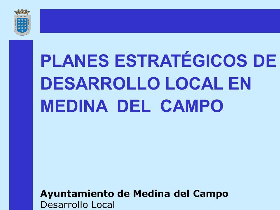 PLANES ESTRATÉGICOS DE DESARROLLO LOCAL EN MEDINA DEL CAMPO Ayuntamiento de Medina del Campo Desarrollo Local