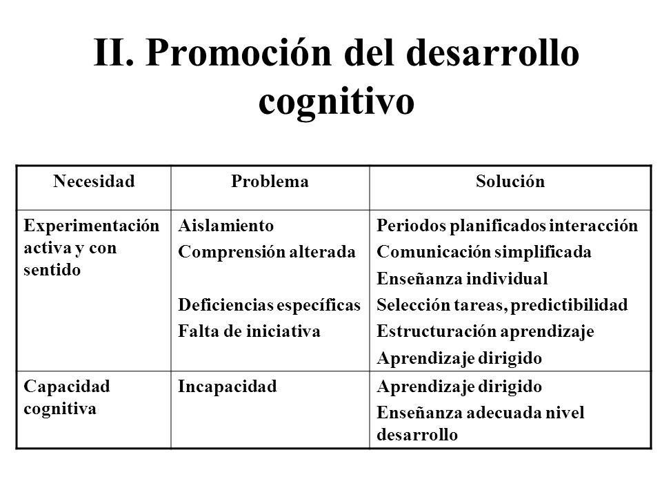 IV. Promoción del desarrollo social NecesidadProblemaSolución Interacción personal intensa, placentera, sensitiva y reconfortante Fallo en acercamient