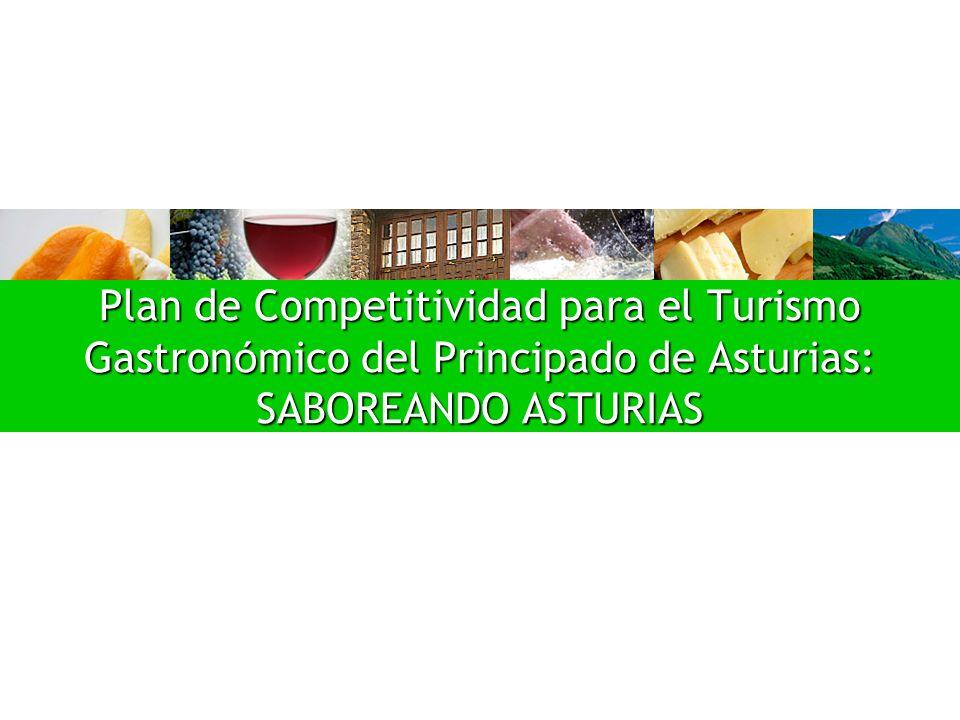 Plan de Competitividad para el Turismo Gastron ó mico del Principado de Asturias: SABOREANDO ASTURIAS