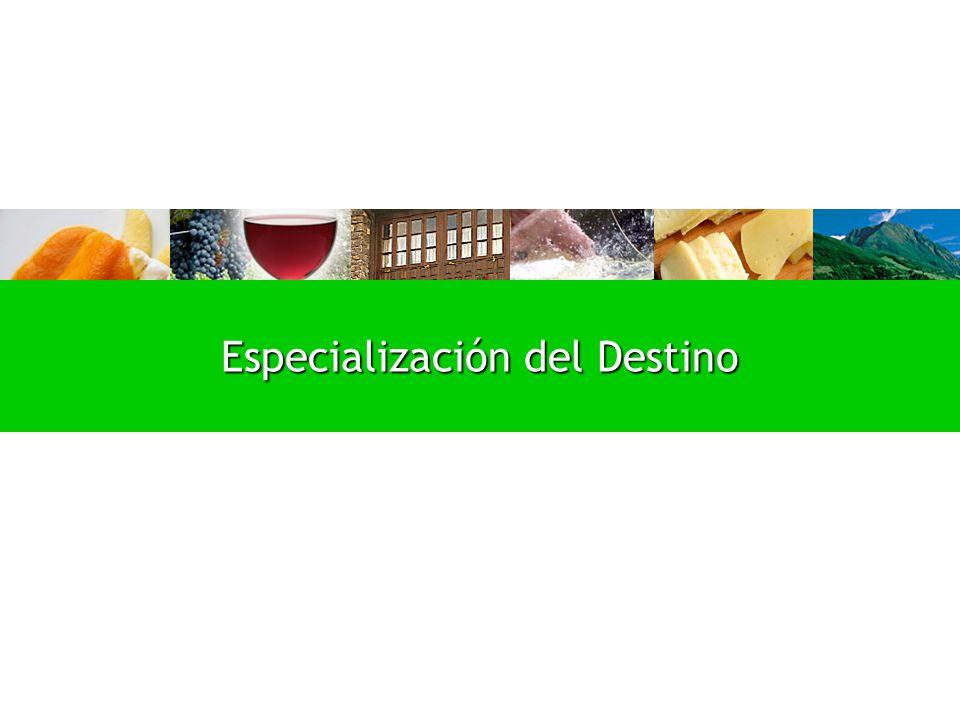 Especialización del Destino
