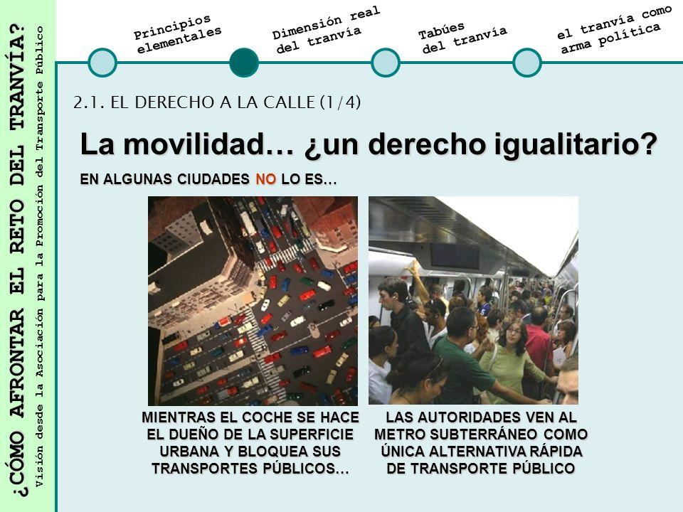 ¿CÓMO AFRONTAR EL RETO DEL TRANVÍA.