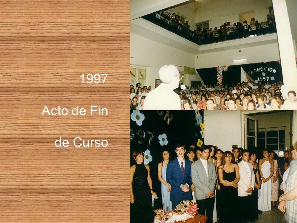 1997 Acto de Fin de Curso