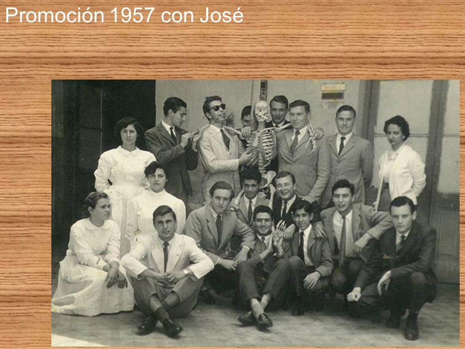 Promoción 1957 con José