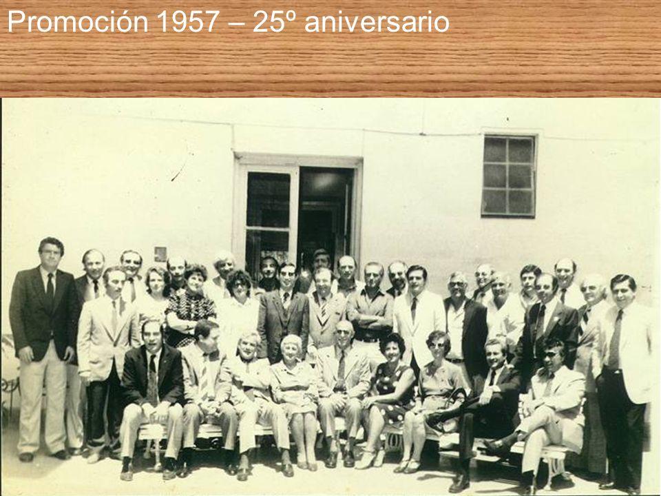 Promoción 1957 – 25º aniversario