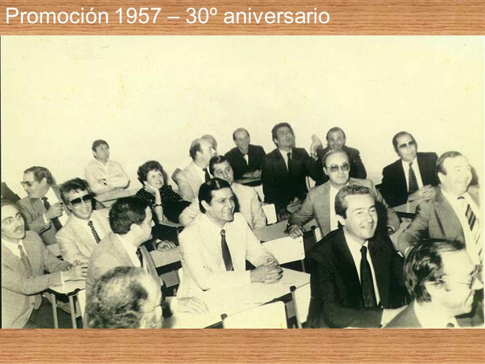Promoción 1957 – 30º aniversario