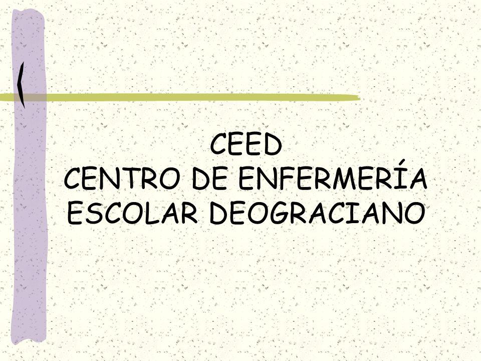 CEED CENTRO DE ENFERMERÍA ESCOLAR DEOGRACIANO