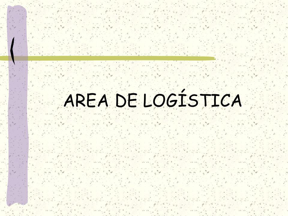 AREA DE LOGÍSTICA