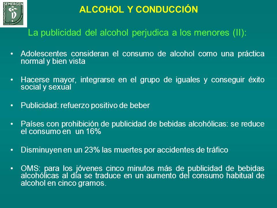 La publicidad del alcohol perjudica a los menores (II): Adolescentes consideran el consumo de alcohol como una práctica normal y bien vista Hacerse ma