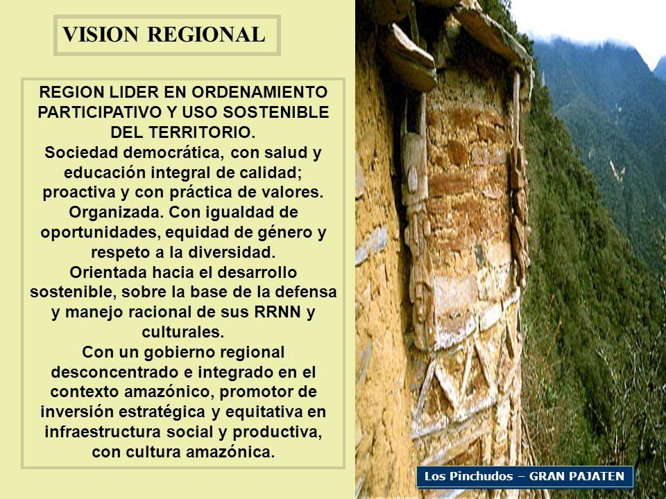 Los Pinchudos – GRAN PAJATEN VISION REGIONAL REGION LIDER EN ORDENAMIENTO PARTICIPATIVO Y USO SOSTENIBLE DEL TERRITORIO.