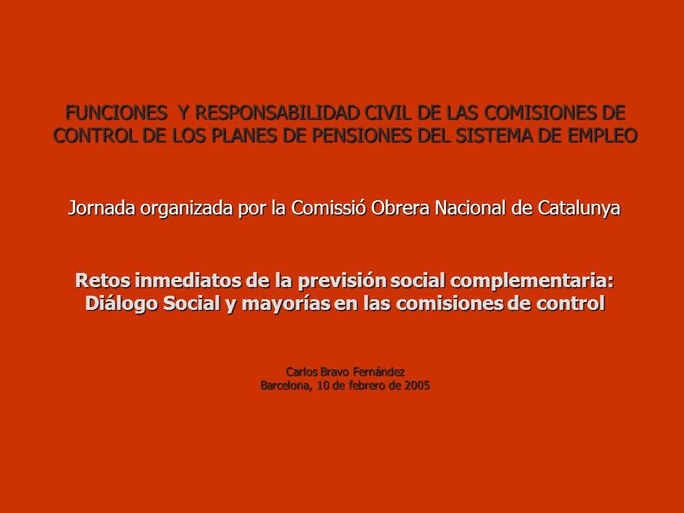 OTROS SEGUROS SEGUROS RESPONSABILIDAD CIVIL PARA MIEMBROS DE COMISIONES DE CONTROL.