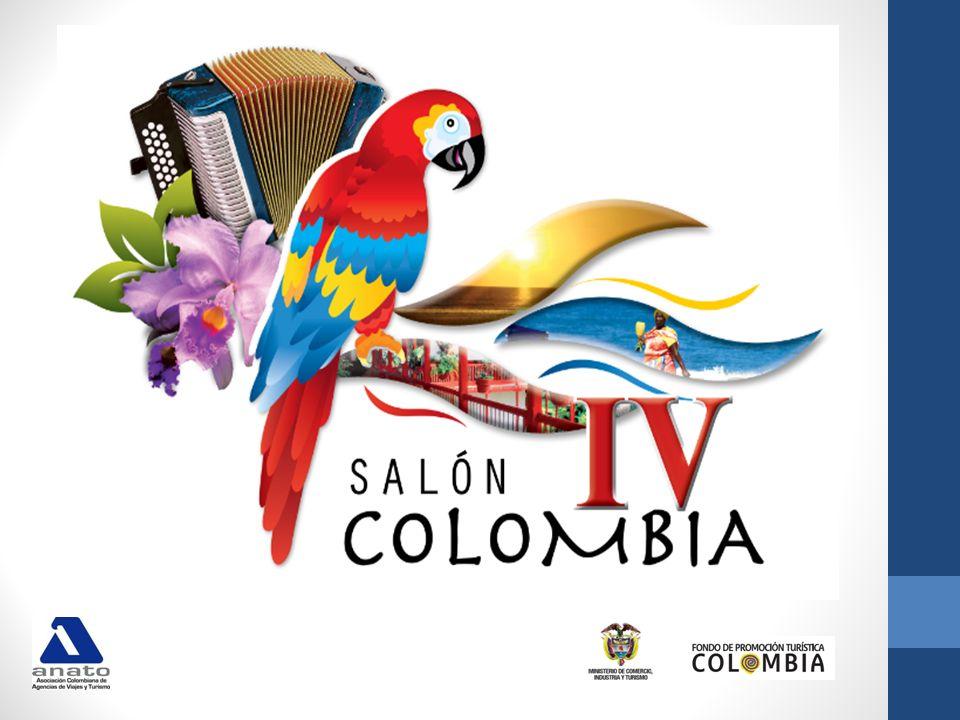 Por tres años consecutivos el Ministerio de Comercio Industria y Turismo y el Fondo de Promoción Turística han apoyado a ANATO con la iniciativa de realizar SALÓN COLOMBIA como la primera feria itinerante de capacitación turística en Colombia.