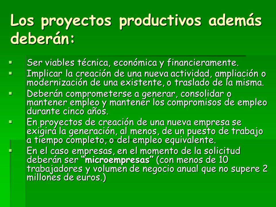 REQUISITOS COMUNES A TODOS LOS PROYECTOS Deberán localizarse en el Oriente de Asturias, o tener una relación directa con este en términos de desarrollo.
