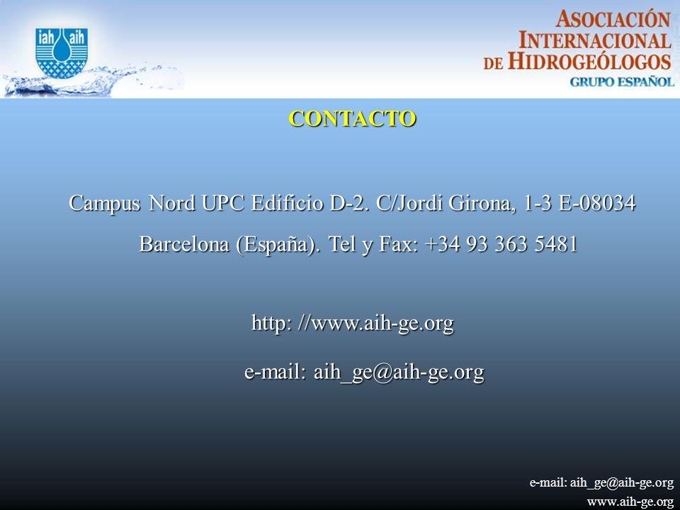 CONTACTO Campus Nord UPC Edificio D-2.C/Jordi Girona, 1-3 E-08034 Barcelona (España).