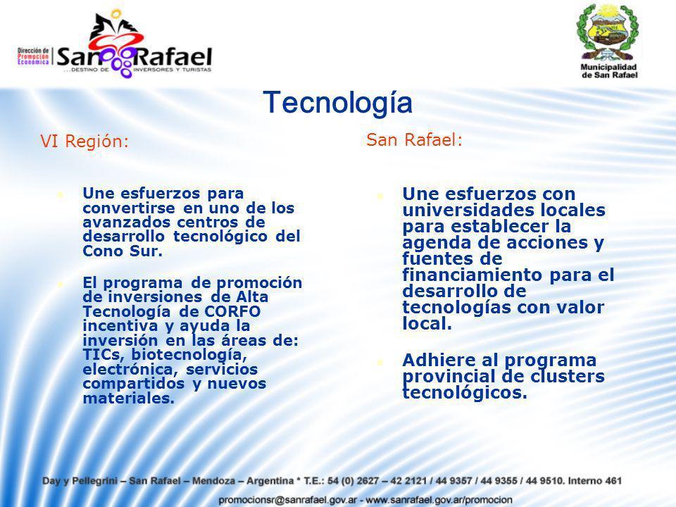 Tecnología Une esfuerzos para convertirse en uno de los avanzados centros de desarrollo tecnológico del Cono Sur.