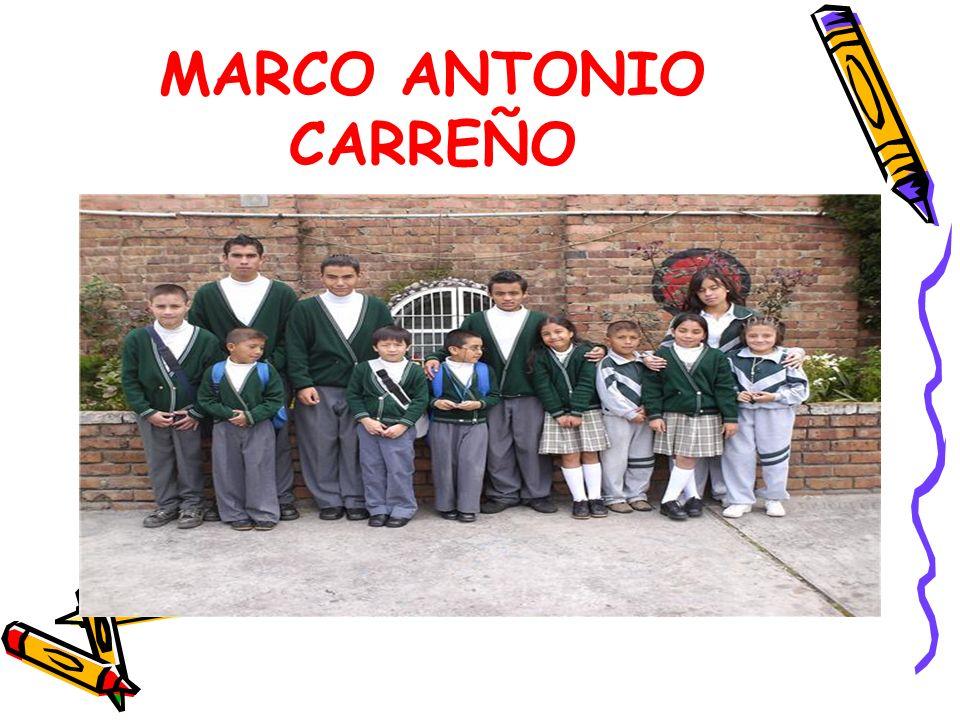 MARCO ANTONIO CARREÑO