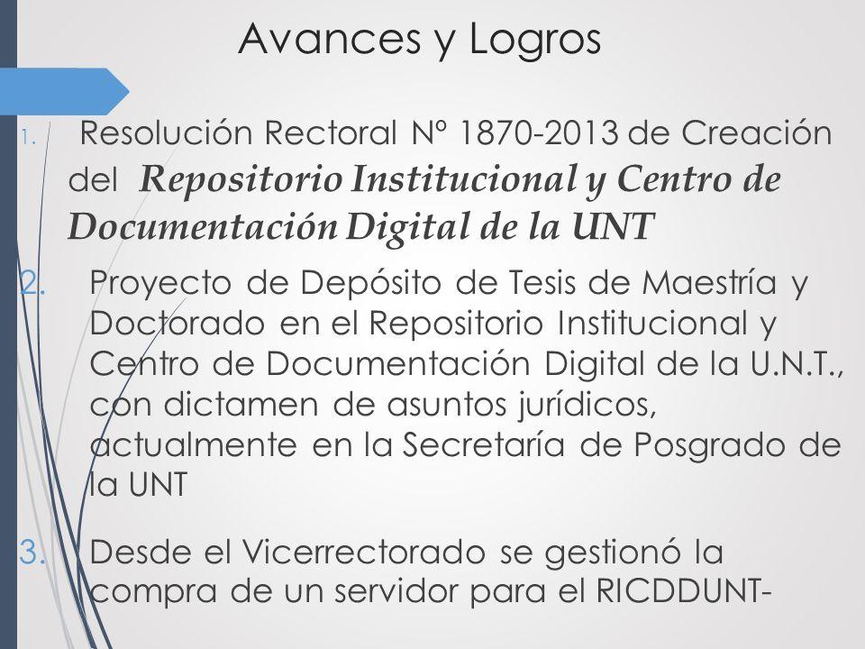 Avances y Logros 1.