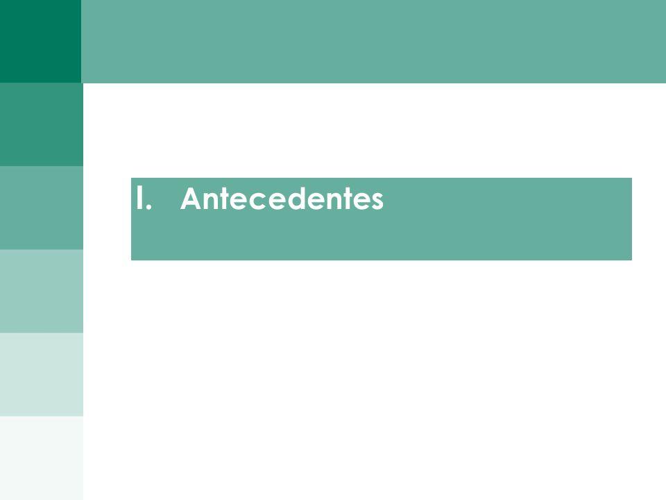 2 I. Antecedentes