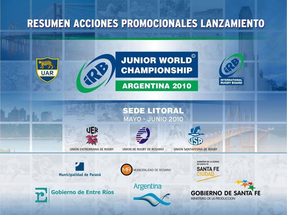 1 Lanzamiento Oficial Casa de Gobierno Santa Fe 2 Promoción 1er Test Match Los Pumas vs.
