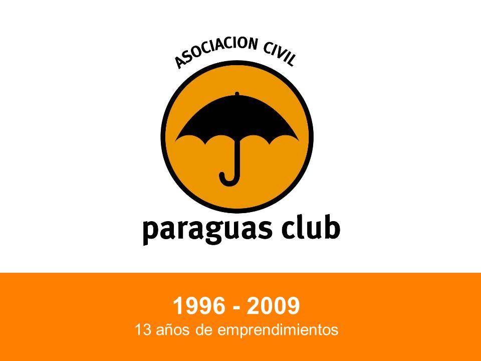 1996 - 2009 13 años de emprendimientos