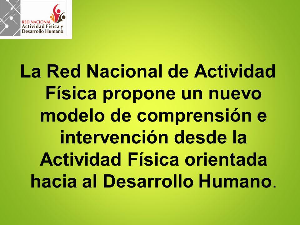 La Red Nacional de Actividad Física propone un nuevo modelo de comprensión e intervención desde la Actividad Física orientada hacia al Desarrollo Huma