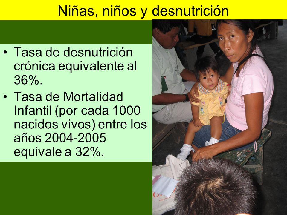 Programa SocialPobre Extremo PobreNo Pobre Total Vaso de Leche41%36%24%100% Seguro Integral de Salud47%39%14%100% Desayuno escolar25%41%34%100% Comedor y club de madres36%23%41%100% Almuerzo Escolar66%22%12%100% Comedor infantil70%30%0%100% Total42%37%21%42% Fuente: SIAF 2006 Recepción de programas sociales por niveles de pobreza, Amazonas.