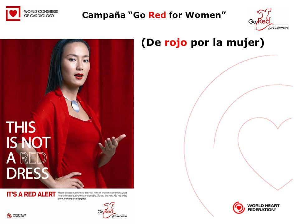 Campaña Go Red for Women (De rojo por la mujer)