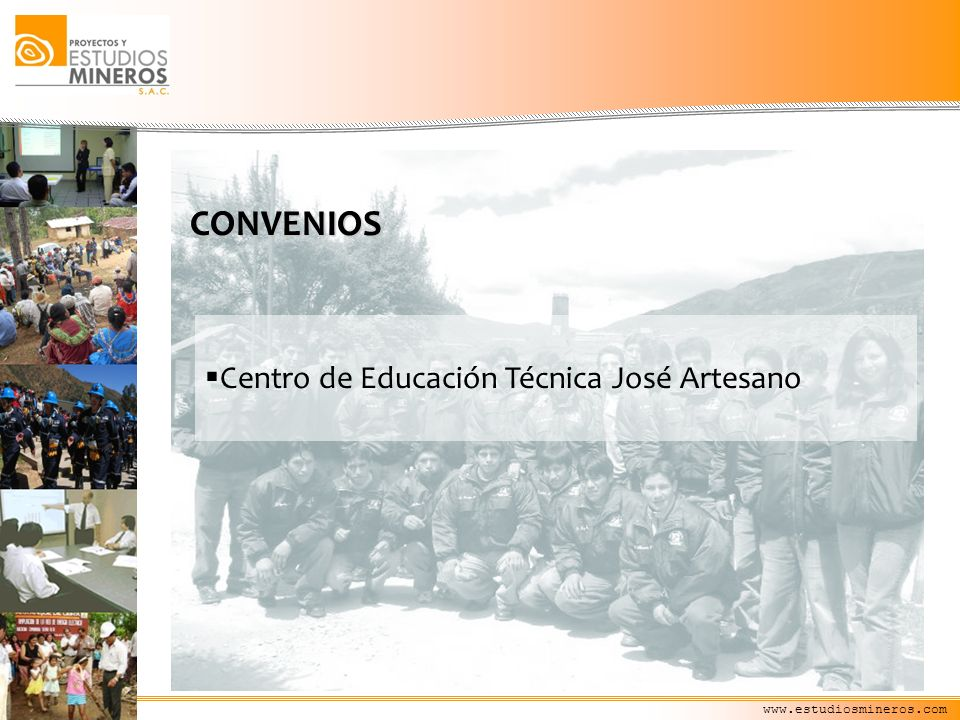 CONVENIOS Centro de Educación Técnica José Artesano