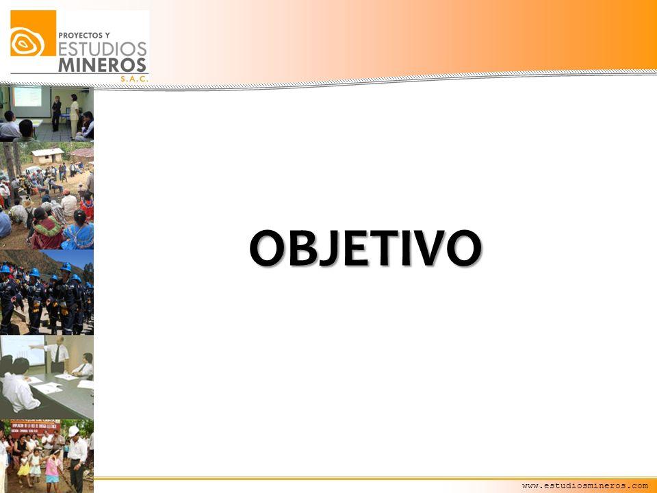 www.estudiosmineros.com OBJETIVO
