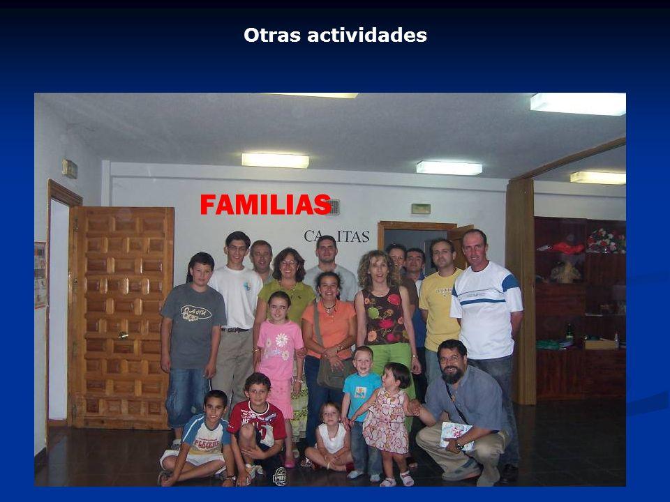 FAMILIAS Otras actividades