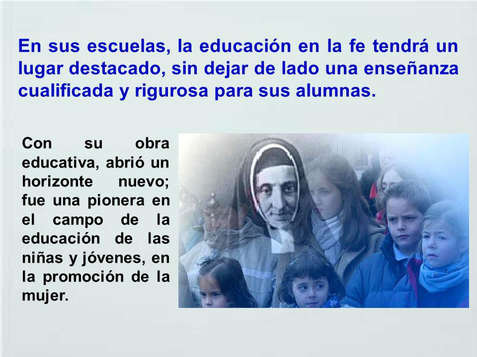 Desde un principio su labor es reconocida por las autoridades locales, civiles y eclesiásticas que valoran tanto los progresos educativos de los alumn
