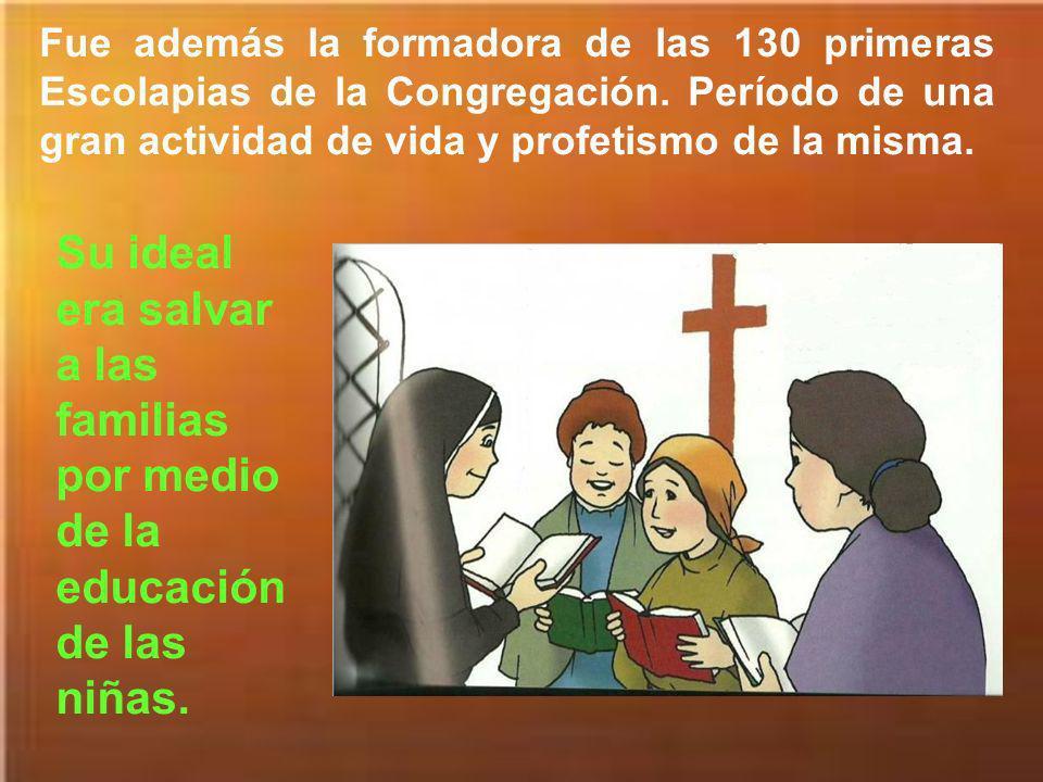 Personalmente funda los colegios de Igualada (1849), El Vendrell (1850), El Masnou (1852), Olesa de Monserrat (1859) e impulsa la apertura de colegios