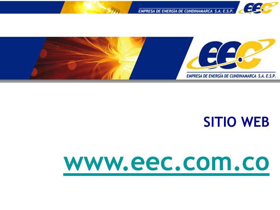 SITIO WEB www.eec.com.co