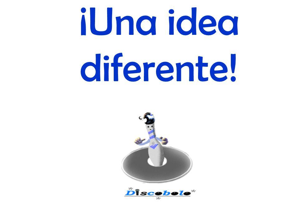 ¡Una idea diferente!