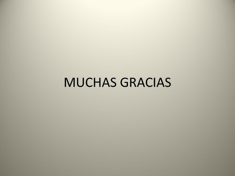 MUCHAS GRACIAS 28