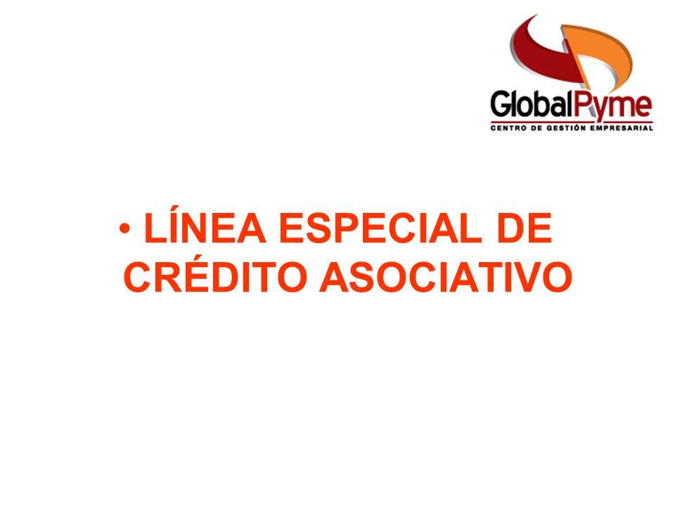 Pequeño Productor Mujer Rural Pequeño Productor alianza Otro Productor LÍNEA ESPECIAL DE CRÉDITO ASOCIATIVO