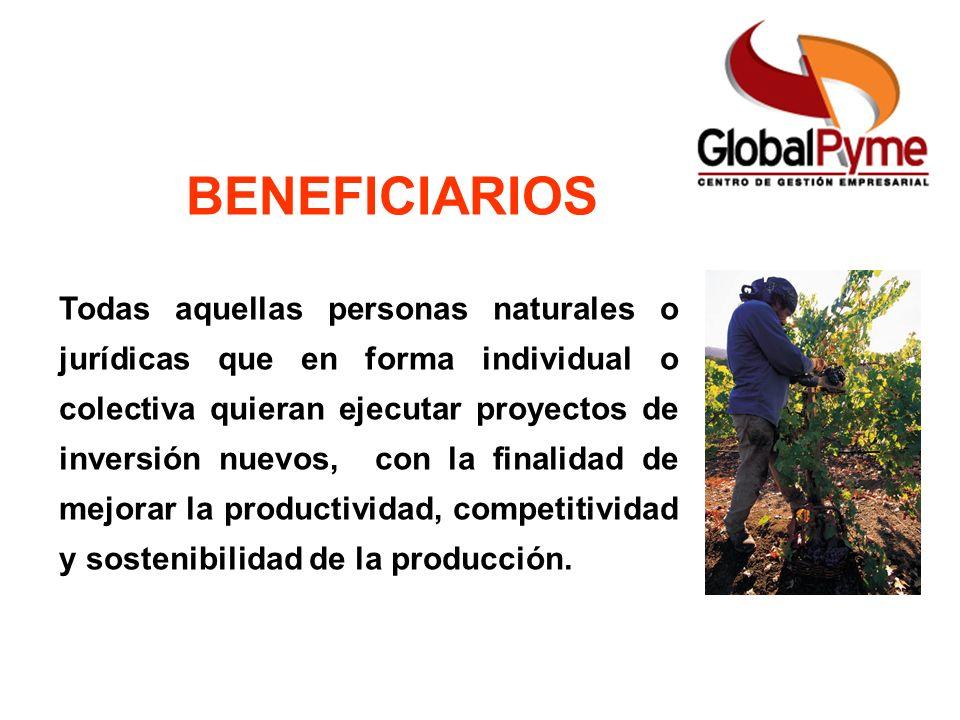 Pequeño Productor Mujer Rural Pequeño Productor alianza Otro Productor FAG ICR Beneficiarios Monto y Límite del ICR BENEFICIARIOS Todas aquellas perso