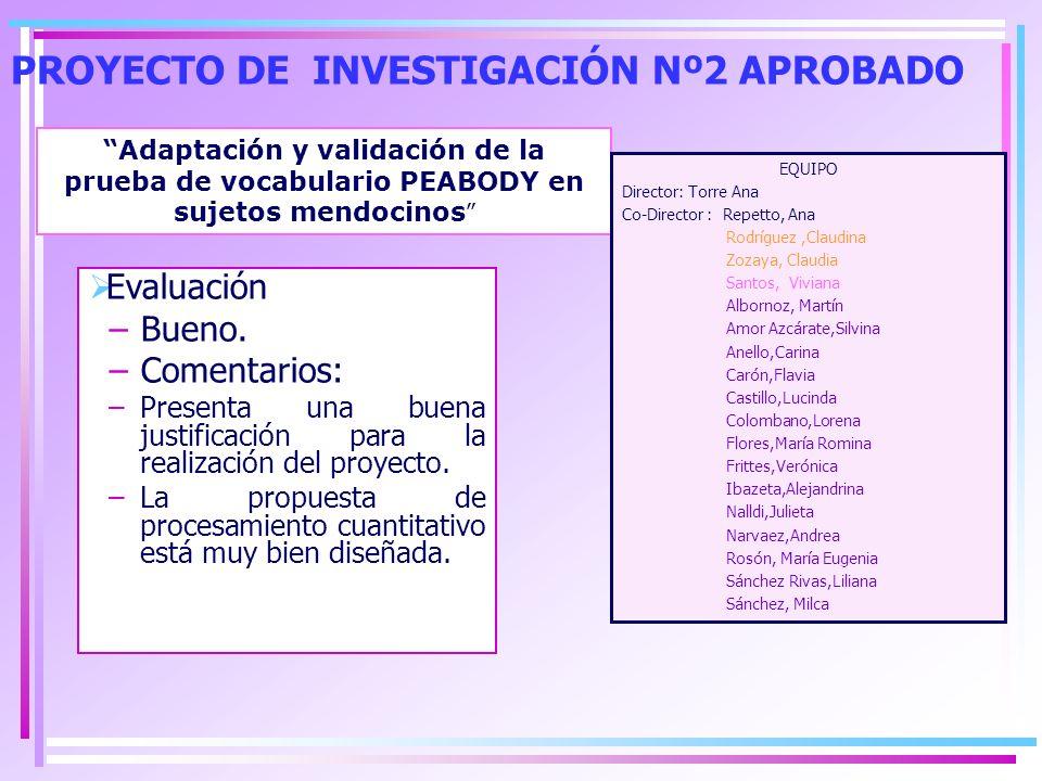 BECAS PARA LA PROMOCIÓN DE LA INVESTIGACIÓN MIEMBROS DEL INSTITUTO QUE SE POSTULARÁN –Alumnos de Grado: María Victoria Fiorentinni.
