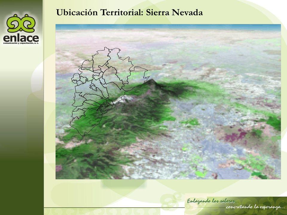 Ubicación Territorial: Sierra Nevada