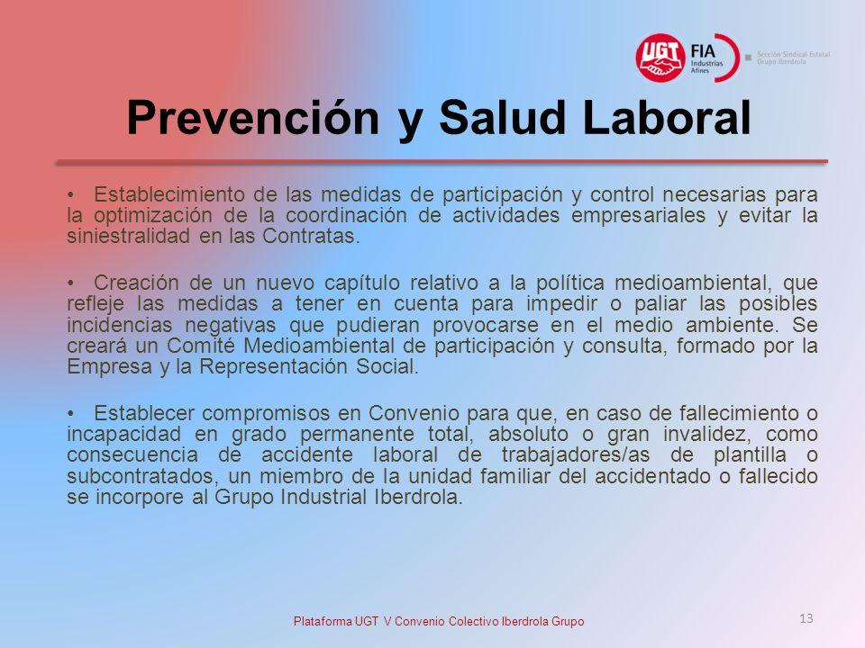 Prevención y Salud Laboral Establecimiento de las medidas de participación y control necesarias para la optimización de la coordinación de actividades empresariales y evitar la siniestralidad en las Contratas.