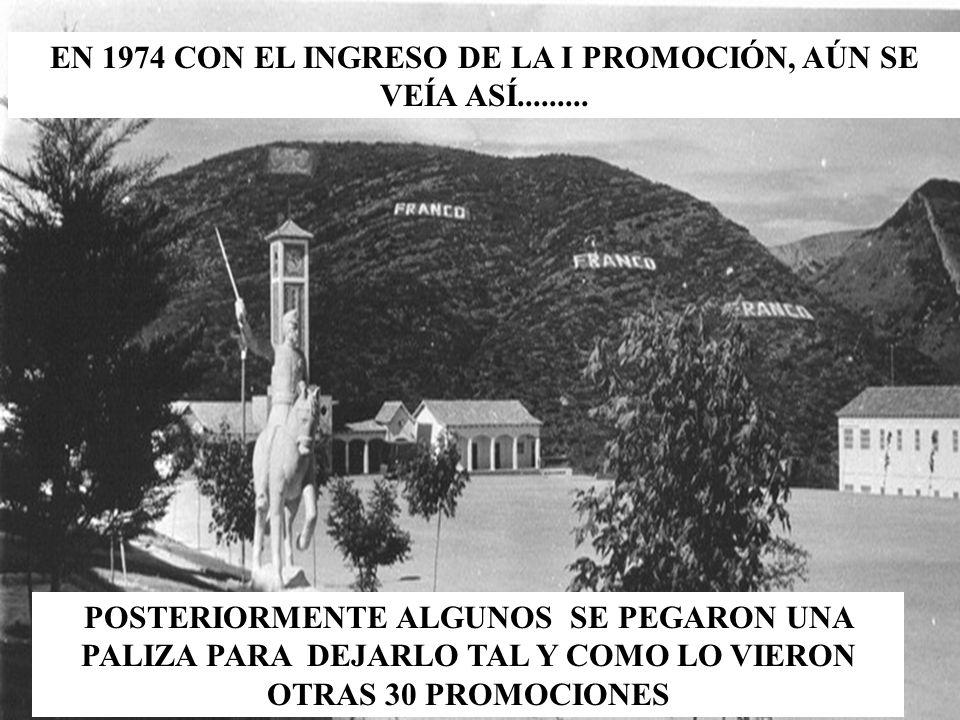 LOS SARGENTOS DE LA XXIX PROMOCIÓN SUBIERON LA NOCHE ANTES DE LA ENTREGA DE SUS TITULOS DE EMPLEO Y CON PAPEL...................