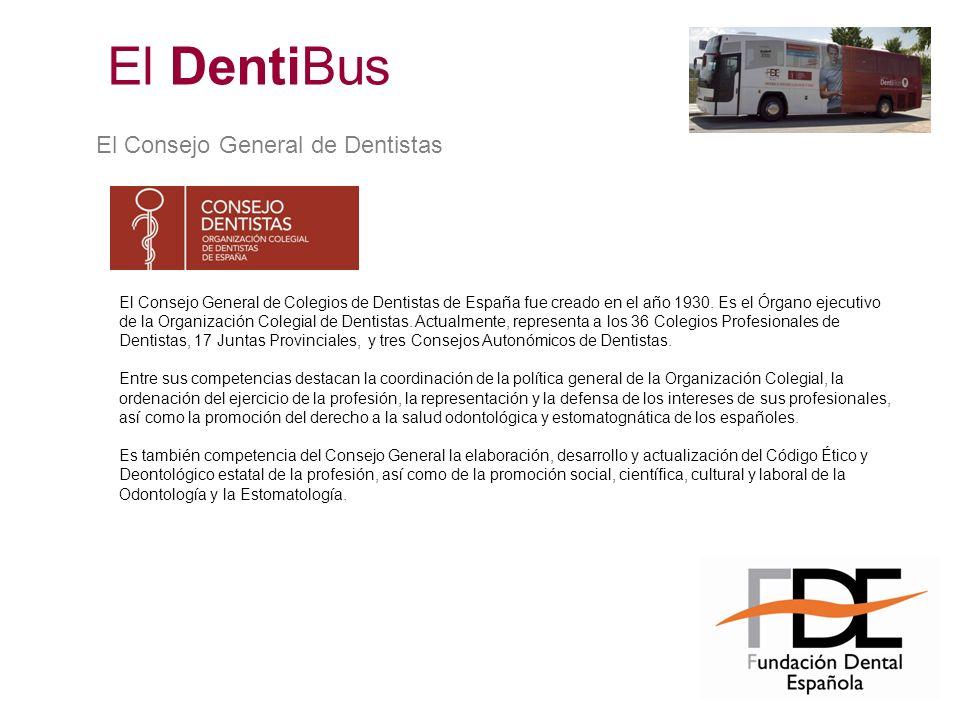 El Consejo General de Dentistas El Consejo General de Colegios de Dentistas de España fue creado en el año 1930. Es el Órgano ejecutivo de la Organiza