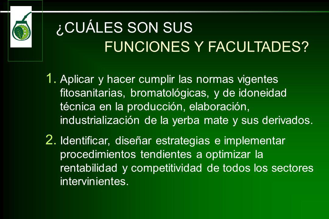¿CUÁLES SON SUS FUNCIONES Y FACULTADES.1.