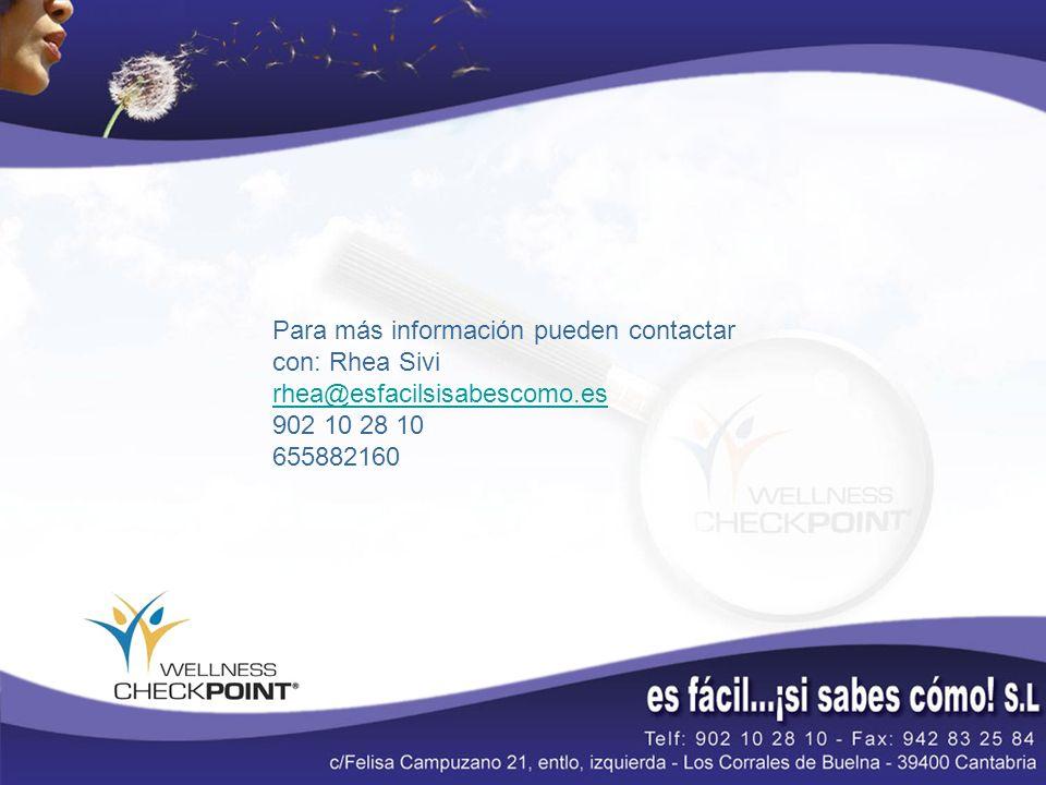 Para más información pueden contactar con: Rhea Sivi rhea@esfacilsisabescomo.es 902 10 28 10 655882160