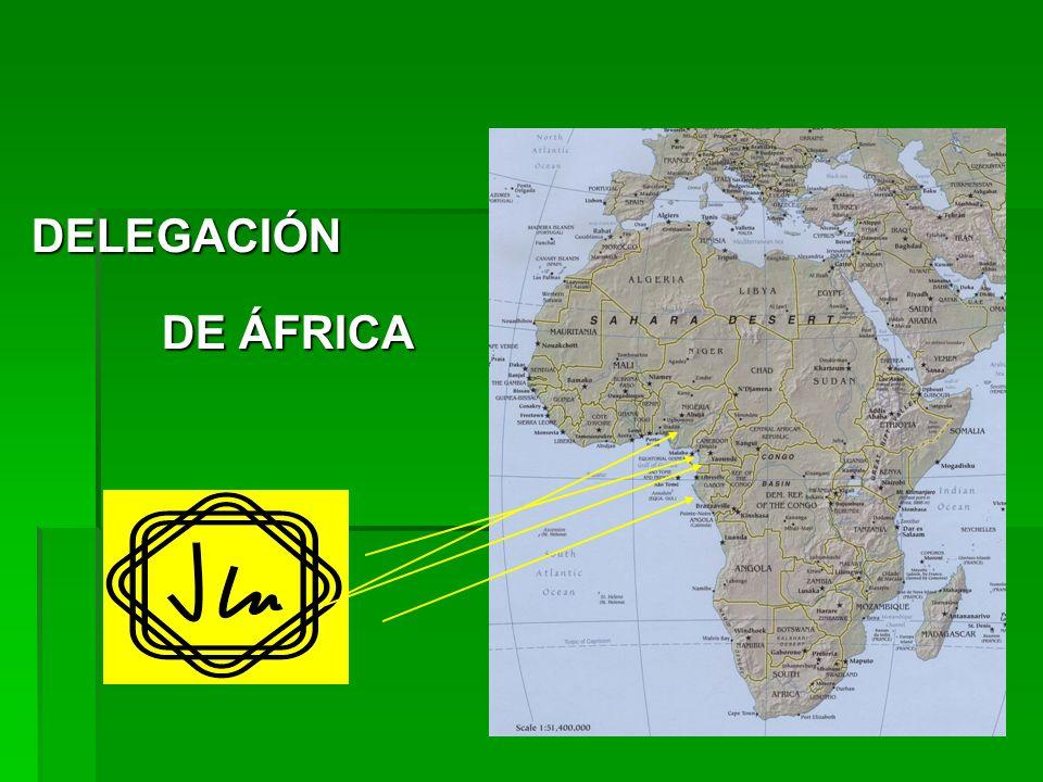 DELEGACIÓN DE ÁFRICA DE ÁFRICA