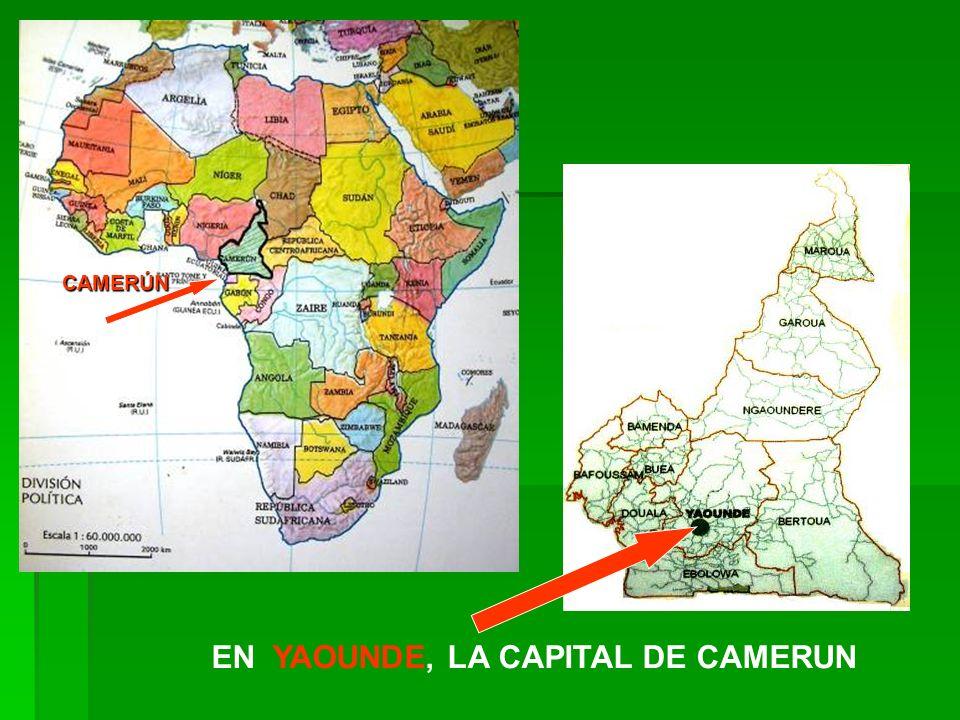 CAMERÚN EN YAOUNDE, LA CAPITAL DE CAMERUN