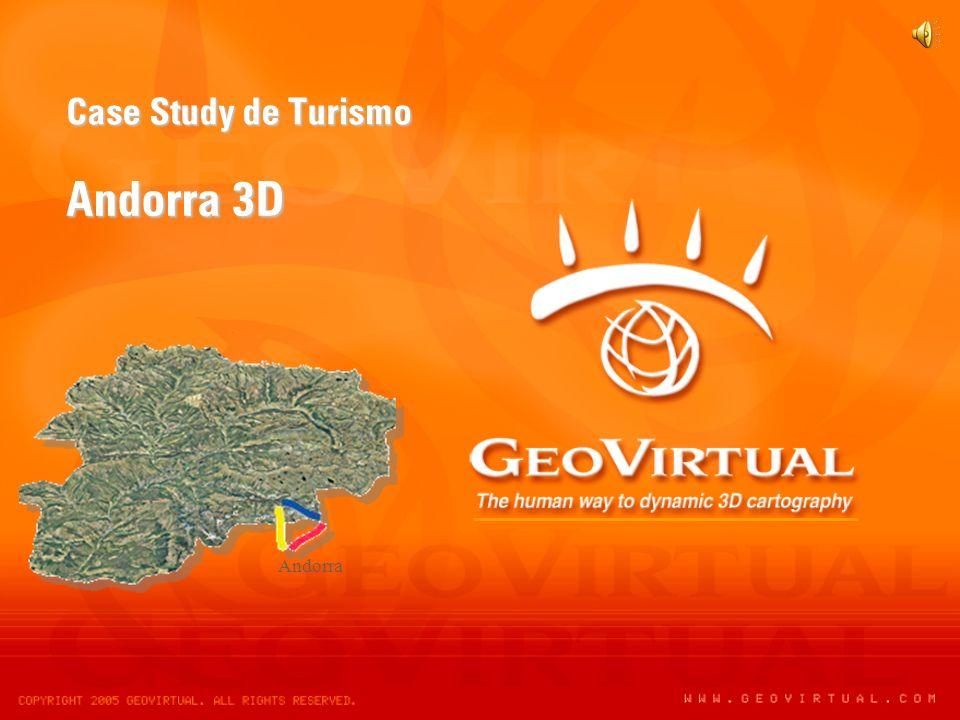 Case Study de Turismo Andorra 3D Andorra