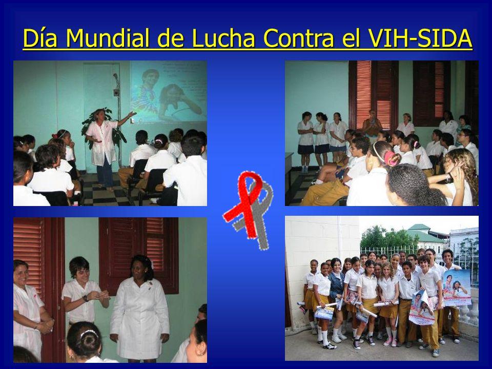 Día Mundial de Lucha Contra el VIH-SIDA