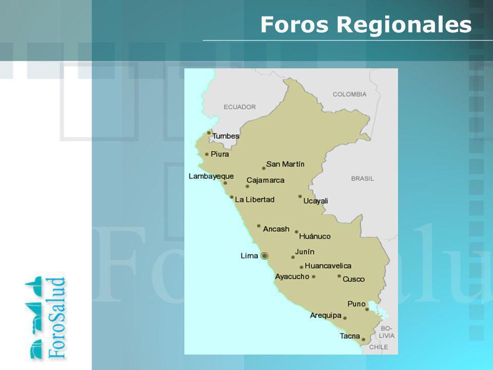 Foros Regionales